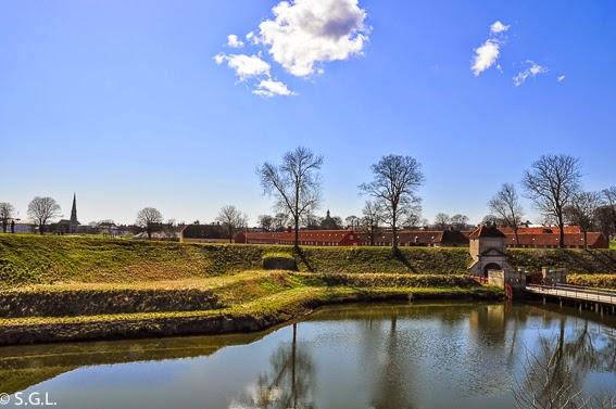 La ciudadela fortificada de Copenhague