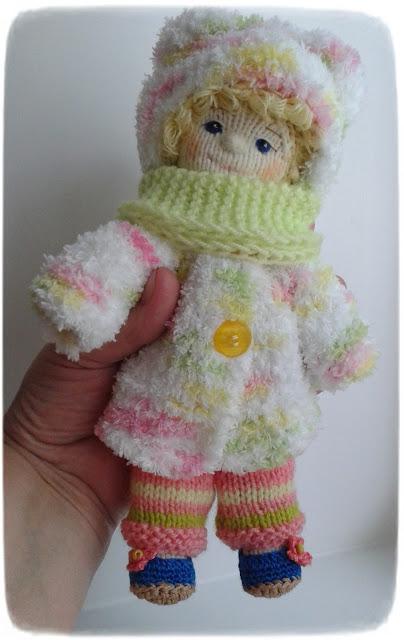 #LjudmilaGrigorieva#knitted doll