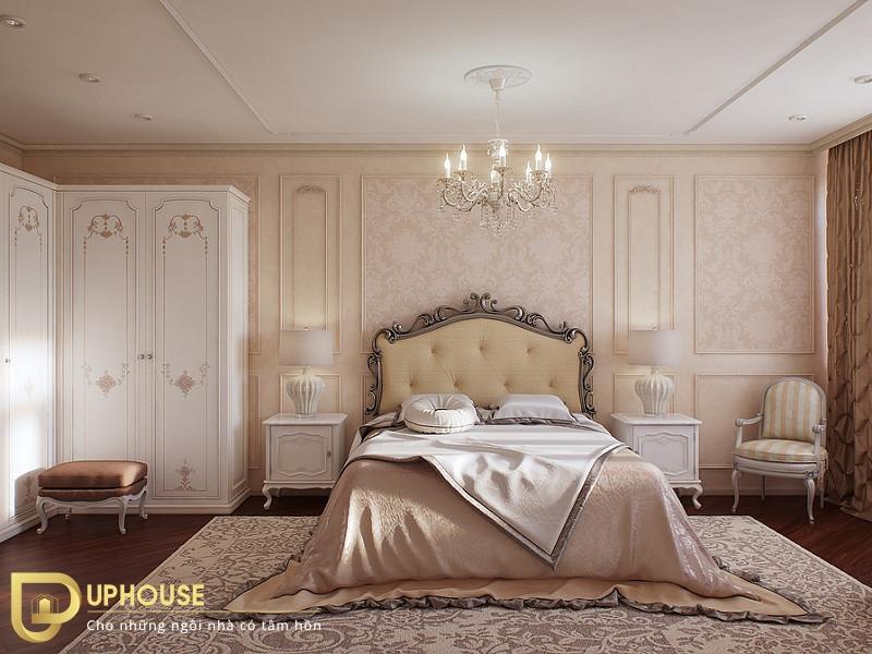 Thiết kế phòng ngủ tân cổ điển 03