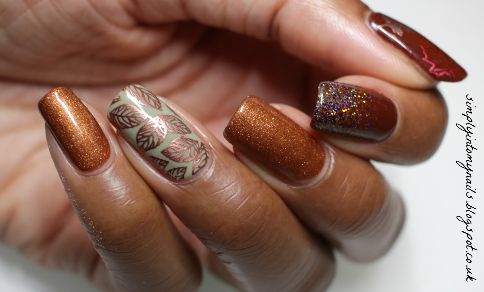 Shades Of Autumn/Fall   Simply Into My NAILS
