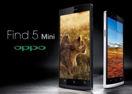Oppo Fine 5 Mini : Harga dan Spesifikasi Terbaru 2015