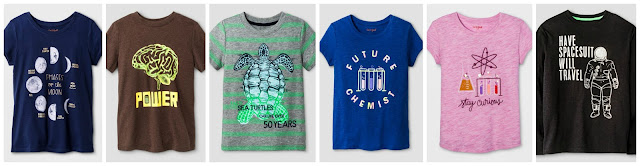 Affordable Science STEM clothes from Target