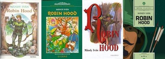 Mándy Iván Robin Hood könyvborítók