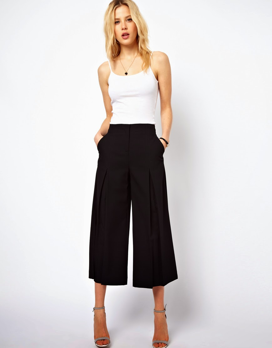 Eniwhere Fashion - Culottes - Top - Trend FW 2014-15 - Asos