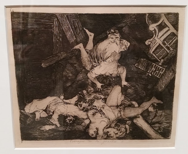Image of etching by Goya