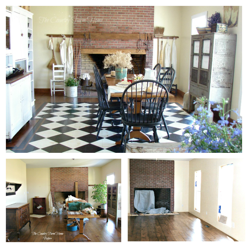 The Country Farm Home Before And After Series The
