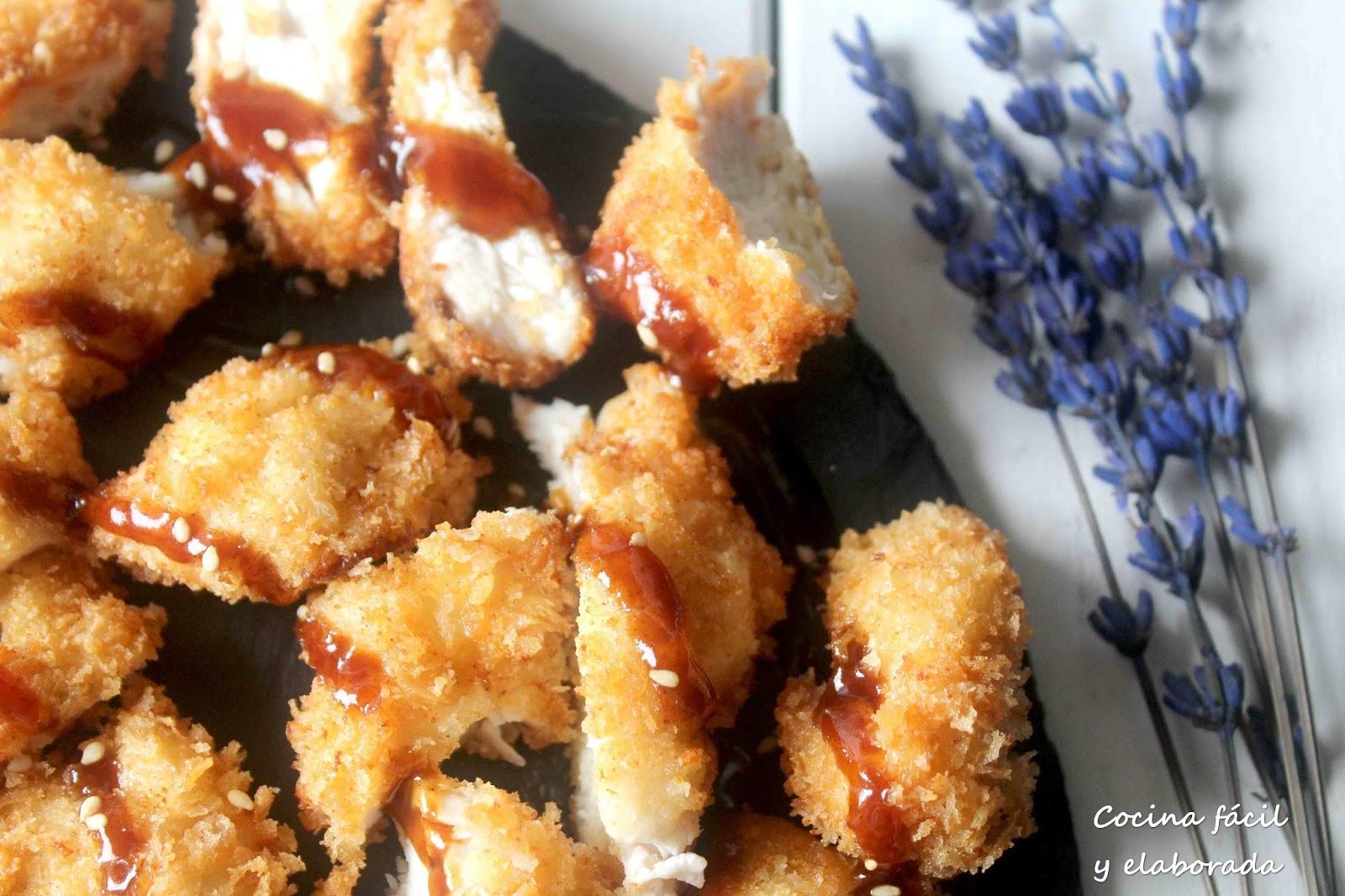 Cocina facil y elaborada tonkatsu de pollo receta japonesa - Cocina facil y saludable thermomix ...
