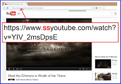 How to download a youtube video with ss