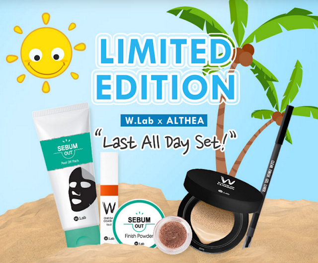 Unboxing & Mini Review : ALTHEA X W.LAB LAST ALL DAY BOX by Jessica Alicia