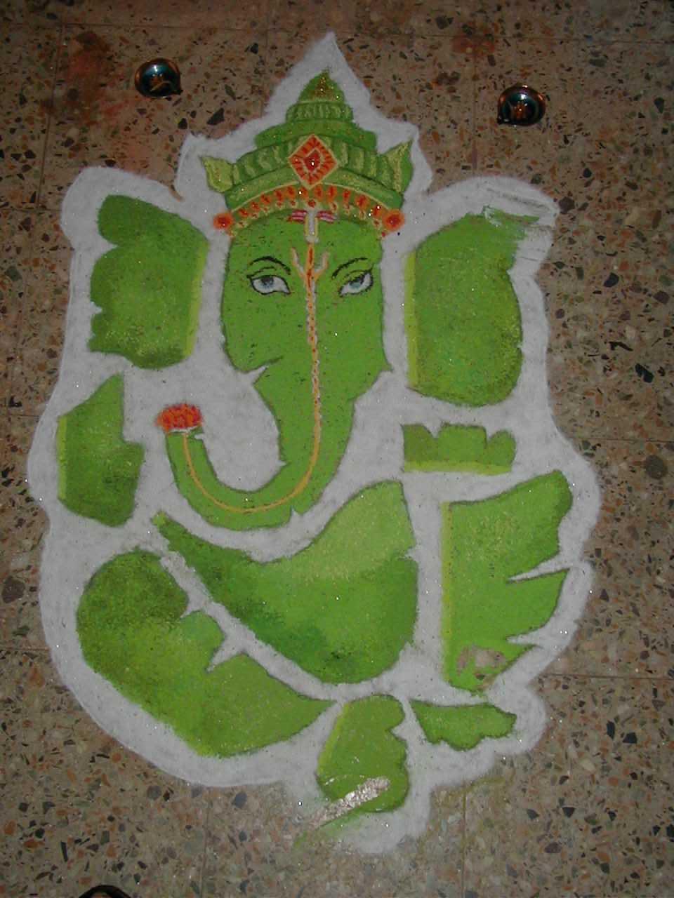 ganesha images for rangoli - photo #8
