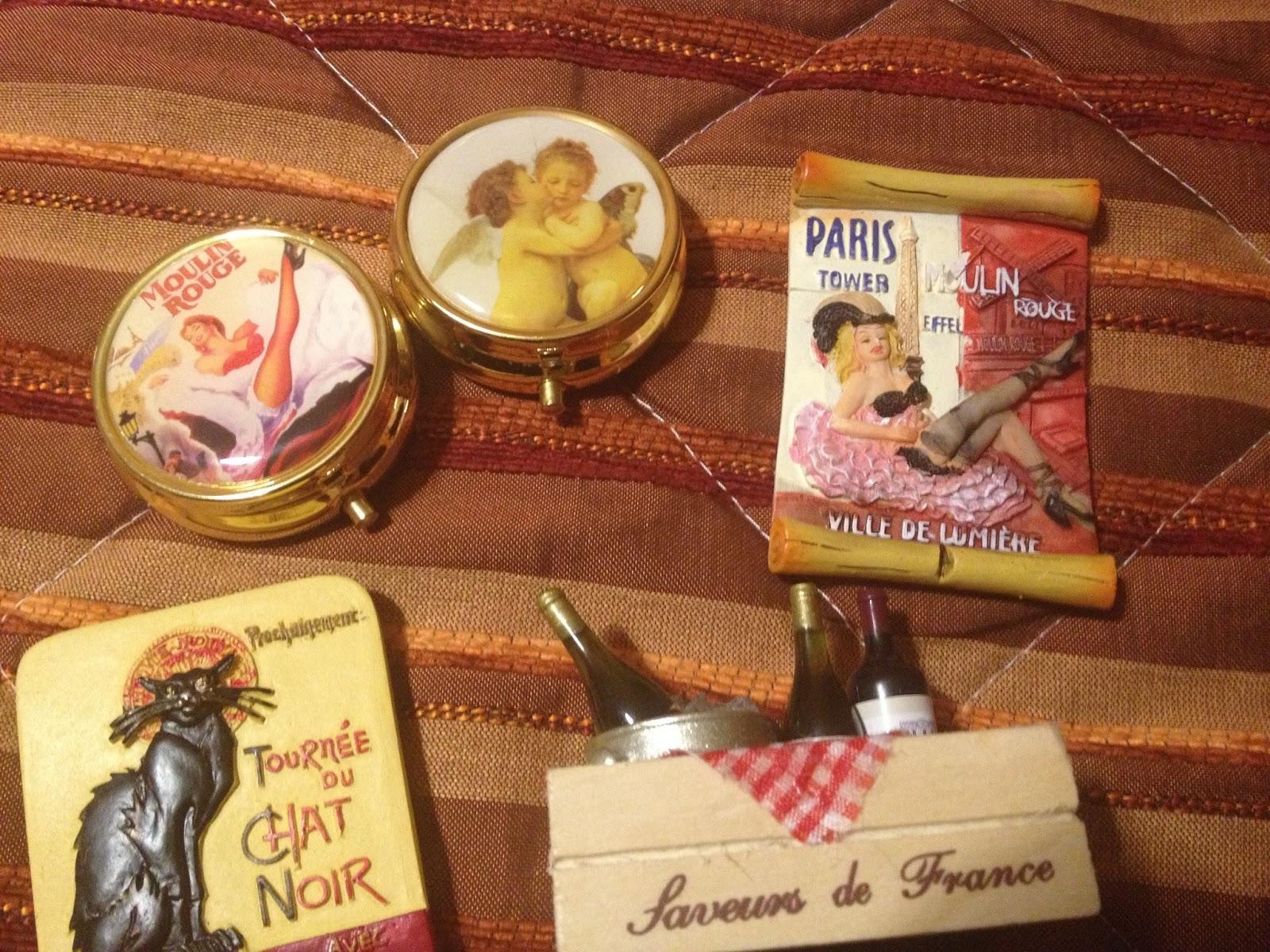 14bb0bb9e Achei itens diferenciados em uma loja na proximidade da Sacre Coeur...que  tem uma loja de esquina com um crepe bem recheado.