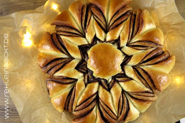 Nutellastern nach dem Rezept vom Bake Club | Foodblog rehlein backt