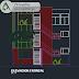 مخطط مشروع اقامة من طابقين اوتوكاد dwg