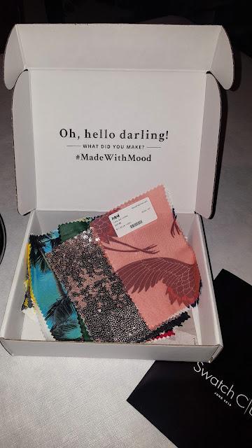 The Mahogany Stylist: Mood Fabrics Swatch Club