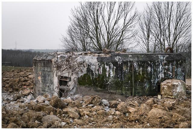 Bunker in der Bergsiedlung Zeitz