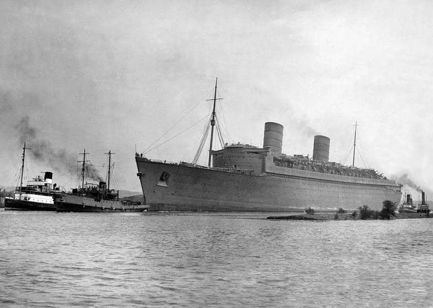 3 March 1940 worldwartwo.filminspector.com Queen Elizabeth military gray