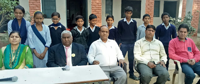 Organizing a one-day Disaster Management Workshop in the Government School of Village Nachauli