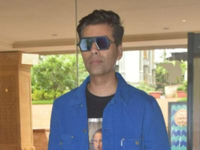 Karan Johar's geometric reflectors are here to make a new fashion trend - see photos