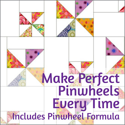 make perfect pinwheel blocks