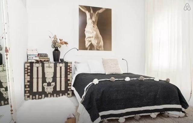 Air BnB East Village Oasis Bedroom