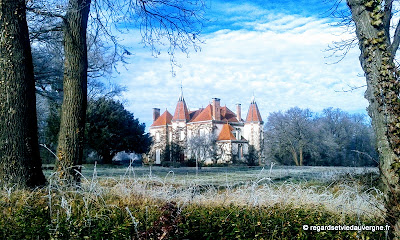 Château des Guérins de Glaine-Montaigut, Auvergne.