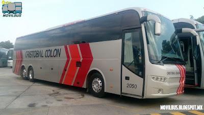 cristobal colon estrena autobuses