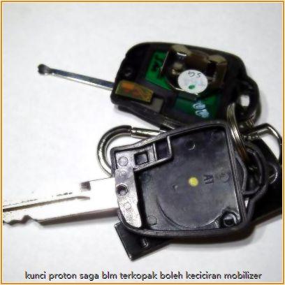 Proton SAGA BLM tak boleh start kunci terkopak