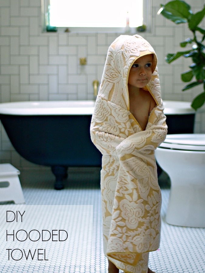 This Little Miggy || Hooded Towel Tutorial