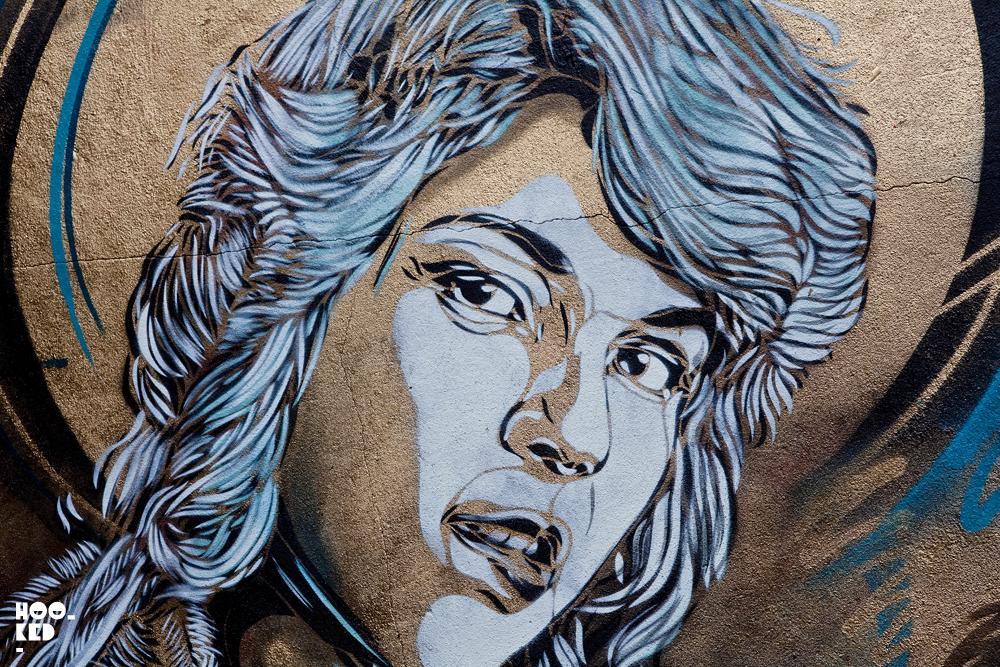 C215 - New London Street Art Mural