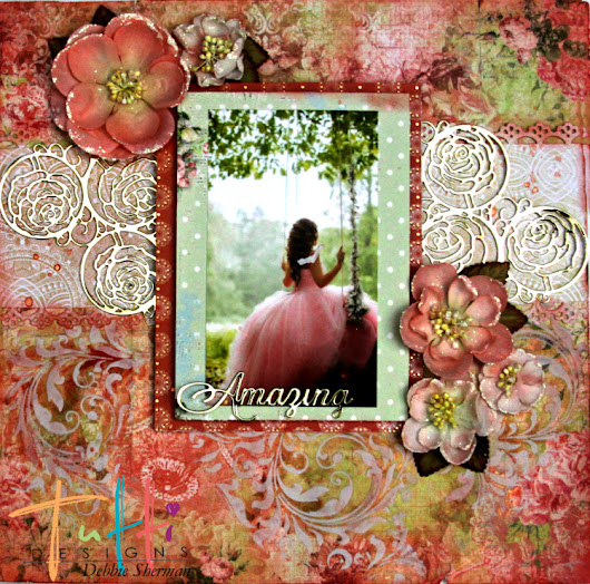 Scrapbook Layout with Tutti Designs