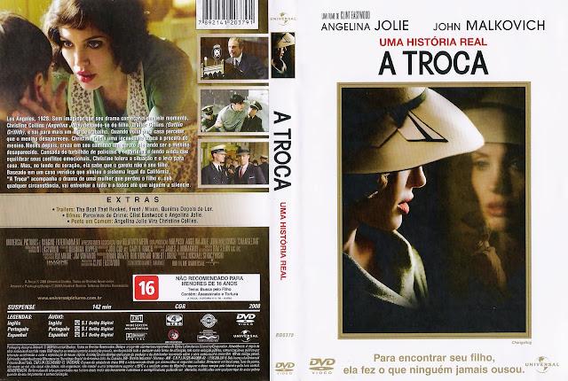 Capa DVD A Troca
