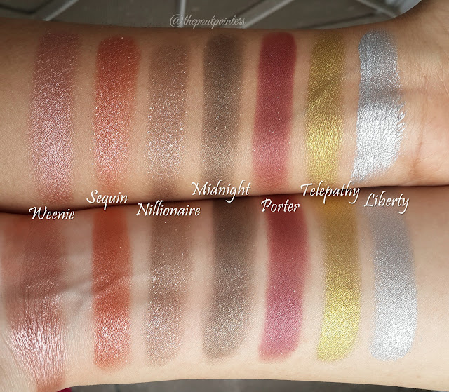 Colour Pop Super Shock Eye Shadows Review Swatches