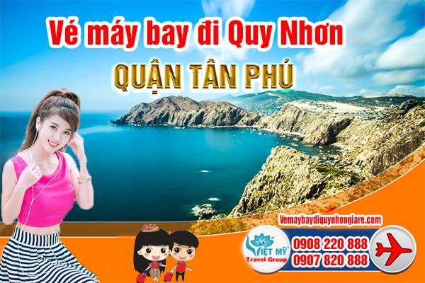 Vé máy bay đi Quy Nhơn quận Tân Phú