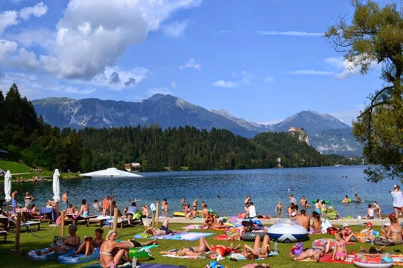 Bled, Lac, Slovénie, Europe, Château