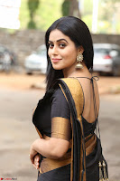 Poorna in Cute Backless Choli Saree Stunning Beauty at Avantika Movie platinum Disc Function ~  Exclusive 043.JPG