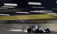 Williams F1 Racing Grand Prix Bahrajnu 2018