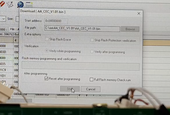 Release EU1KY AA Firmware CEC Version 1 01 and 1 0a