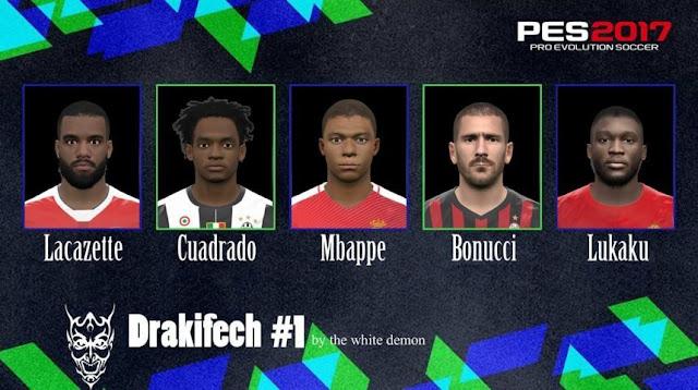 Drakifech Facepack PES 2017