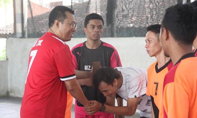 Keputusan Bang Zul Ini Bikin Geger Turnamen Futsal PKS