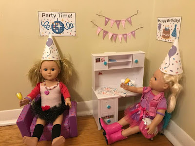 American Girl free birthday banner