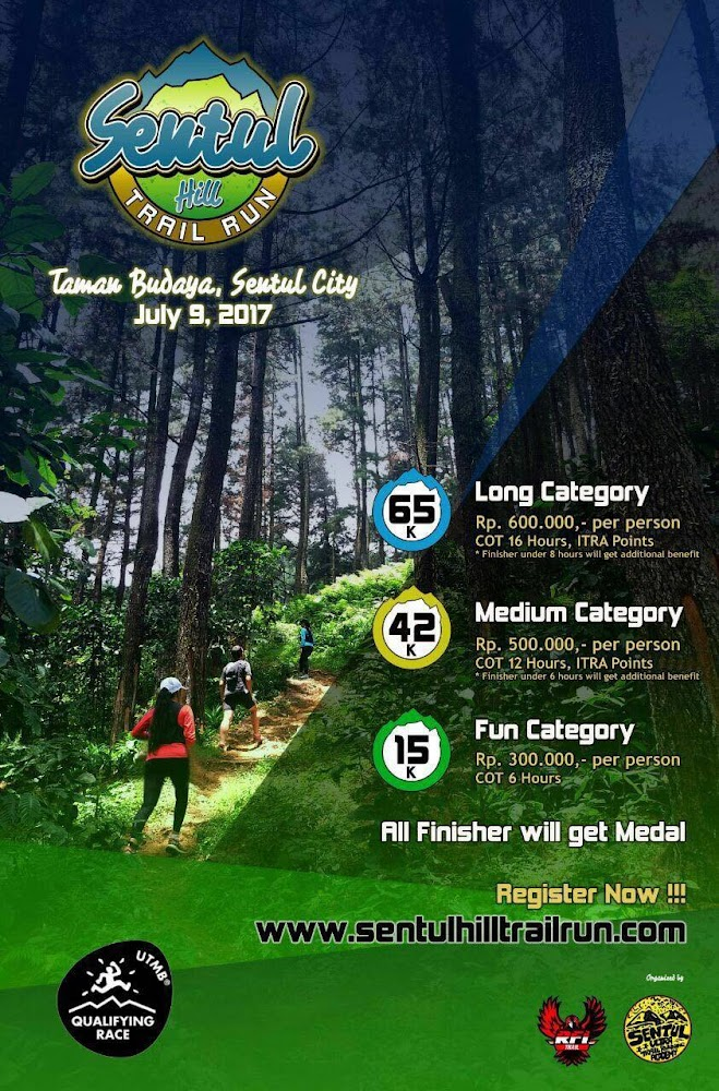 Sentul Hill Trail Run • 2017