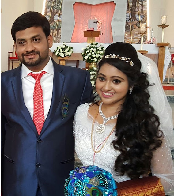 Actress Meghna Vincent married  Don Tony | Wedding and Reception Photos