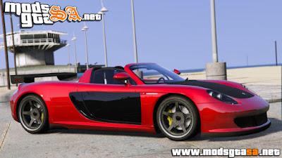 Porsche Carrera GT 2003 para GTA V PC