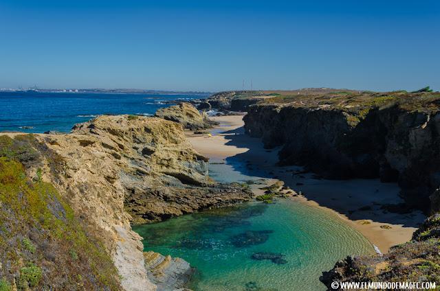 playas-del-alentejo. Calas de Porto Covo.