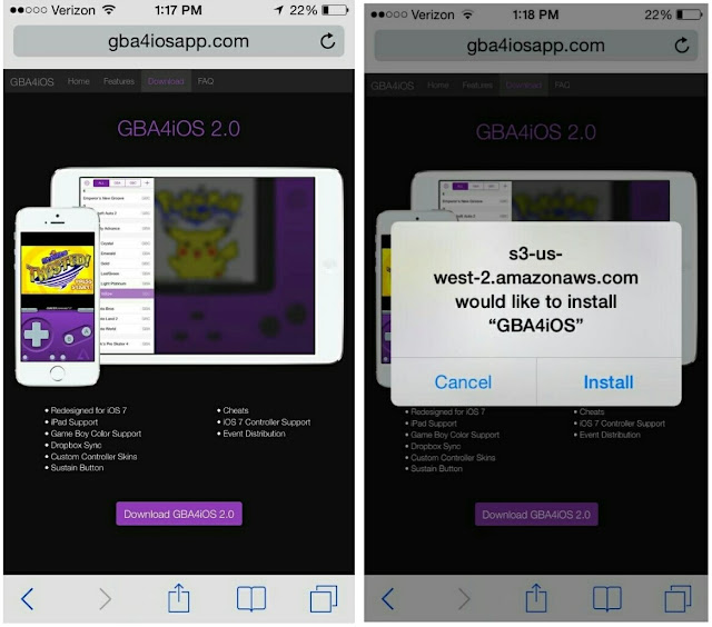 download -gba4ios