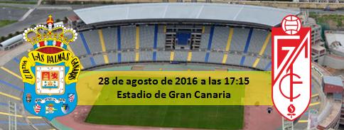 Previa UD Las Palmas - Granada CF 28 agosto 17:15