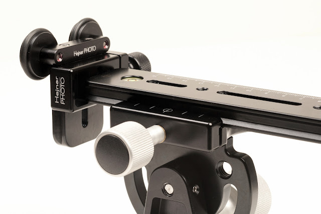 Hejnar photo modular Long Lens Support Bracket with F60 clamp and G13-80 rail