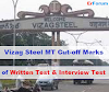 Vizag Steel MT Cut-off Marks for All Branches- [RTI Replies]