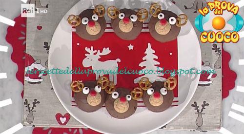 Ricetta dei Cupcake alce da La Prova del Cuoco