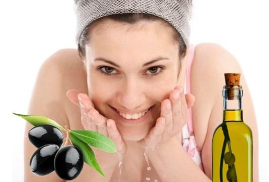 huile olive peau grasse
